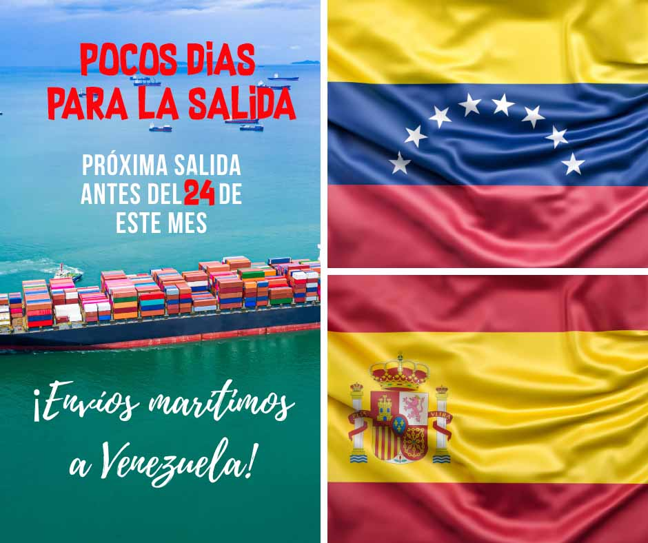 próximo envío a Venezuela