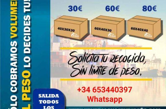 lista de precios maritimo envios a venezuela