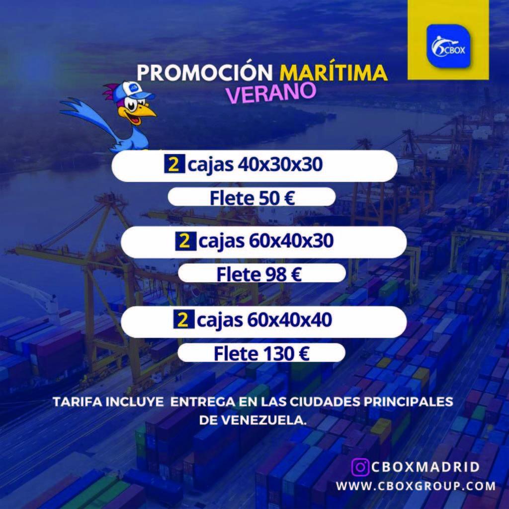 oferta de envios a venezuela