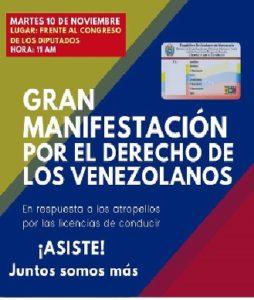 marcha licencia de venezuela en españa